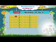 Learn Grade 3 - Maths - Multiplication By Carrying Over