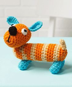 Ravelry: Sam the Dog - LW3316 pattern by Michele Wilcox
