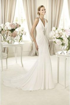 Robe de mariée Pronovias Baile 2013
