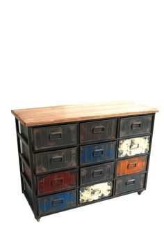 Moe's Home Collection  Large Paintbox Cabinet