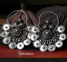 Ethnic Tribal Miao Handmade Earrings