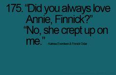 I so love Finnick.