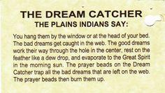 dream catchers!