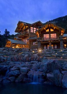 Mountain Dream Homes On Pinterest Mountain Home Exterior