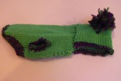 XS Lime Green Hoody Dog Sweater Pet Clothes by RocknHotdog on Etsy, $9.00
