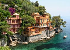 Seaside Villa, Portofino, Italy.