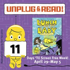 Unplug & Read 'LUNCH LADY AND THE VIDEO GAME VILLAIN'!
