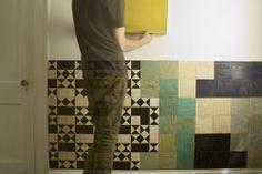 Modular Wall Decor wall tiles, magnet