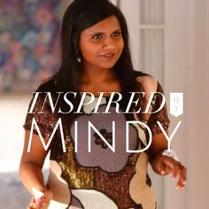 Style Inspiration from Mindy Kaling Do you watch The Mindy Project?