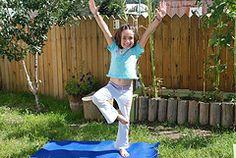 25 yoga poses for children