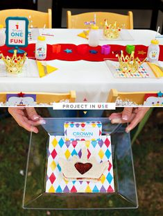 How to Make Your Own {Creative} Custom Party Plates