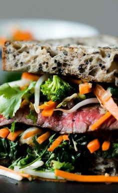 Asian Steak Sandwich