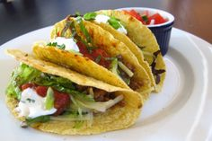 Classic Tacos - traditional tacos with a mild homemade seasoning. #smarterbeef #TacoTuesday