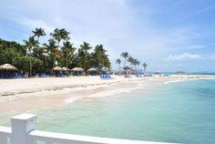 view of Palomino Island from the dock  El Conquistador Resort - Puerto Rico