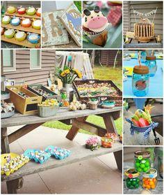 Antique Vintage Farm Party with REALLY CUTE IDEAS via Kara's Party Ideas | Kara'sPartyIdeas.com #Barnyard #PartyIdeas #Supplies