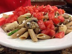 Pasta with Roasted Herbed Tomatoes
