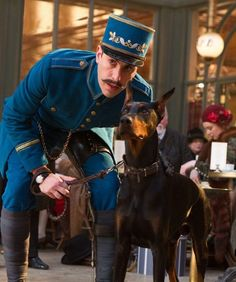 """From movie """"Hugo"""" - too bad the Dobe plays a *big, scary guard dog* again. Sigh."""
