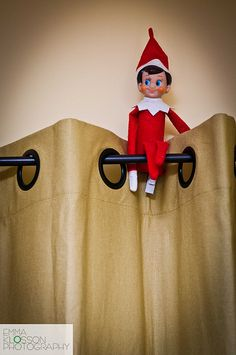 Elf on the shelf ideas | Watching from on High