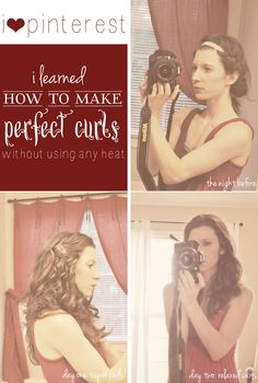 no heat curls