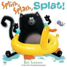 Splish, Splash, Splat! by Rob Scotton. Follow the link and scroll through the Barnes & Noble  videos. http://www.barnesandnoble.com/u/online-storytime-books-toys/379003588