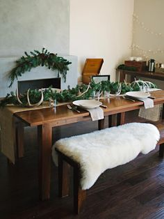 Textures and Warmth - Host a Rustic Handmade Christmas Brunch on HGTV
