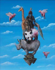 """Seeking Wisdom"" by Michael Summers. Fine Art Limited Edition, 16"" x 20""."
