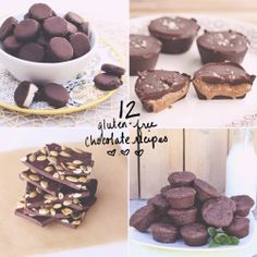 12 Gluten-Free Chocolate Recipes #valentinesday