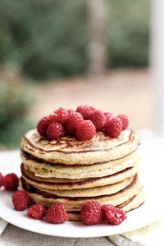 Ricotta Cornmeal Pancakes
