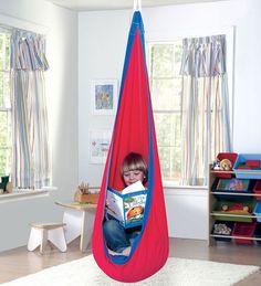 Huggle Pod™ Indoor/Outdoor Canvas Hanging Chair