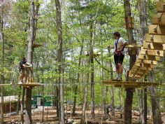 If you're looking for some outdoor adventure, check this out! On June 14, 2014 all visitors at Adventure Park in Storrs receive a 10% ticket discount from 9 a.m. until 8 p.m. Climb and zip through the trees and challenge yourself to a variety of aerial trails.