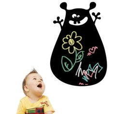 Blob  Chalkboard Decal now featured on Fab.