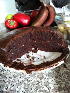 Gluten Free Chocolate Cake!  Wow!  Namaste Cakes are amazing!