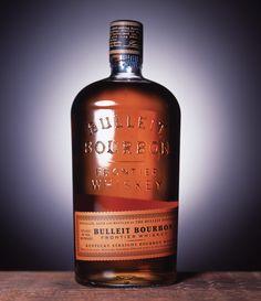 Bulleit Bourbon Designed by Sandstrom Partners via lovelypackage.com