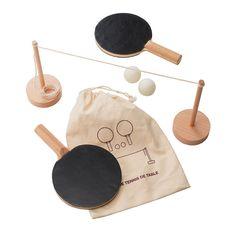 portable table tennis set via MUJI