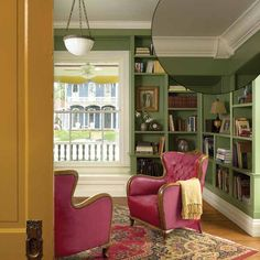 corner crown molding treatment   Photo: Nathan Kirkman | thisoldhouse.com | from 39 Crown Molding Design Ideas