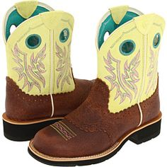 So cute! Ariat Fatbaby Cowgirl Boots.