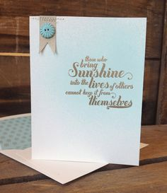 Stampin' Up! Feel-Goods-Card