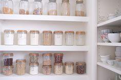 zesti white, pantri, spice, dream hous, organized pantry, dream pantry, pantry organization, mason jars, white kitchens