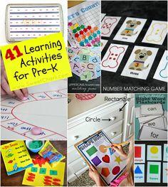 Sweet Charli: 41 Learning Activities for Your Preschooler/Kindergartener