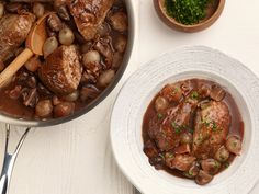 30-Minute Coq au Vin Recipe : Food Network Kitchens : Food Network - FoodNetwork.com