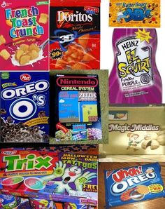I miss all of these things