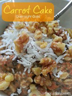 Carrot cake overnight oatmeal