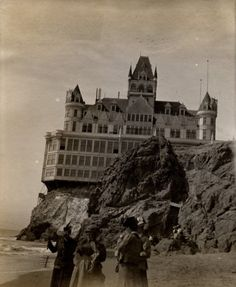 the cliff house California - site of many ghost sightings