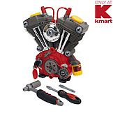 I know some little boys who would LOVE this! My First Craftsman 30-Piece Tool Box Toy Set: Build with Kmart