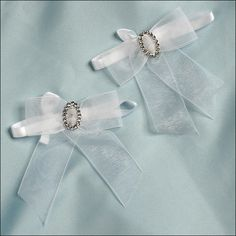 Accent Bows - Endless Love - White