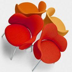 Flower chair Vico Magistretti