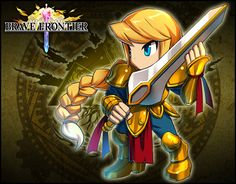 Squire Atro, a swordsman from the ruined La Veda Republic, she later became one of the Six Heroes.
