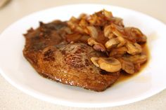 Honey, Soy and Garlic Marinated Steak