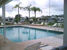Port St Lucie RV Resort at Port St Lucie, Florida