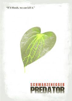 Predator minimalist movie poster